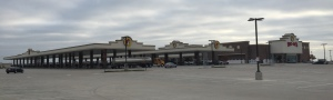 That's 120 gas pumps and the building is as big as a grocery store.