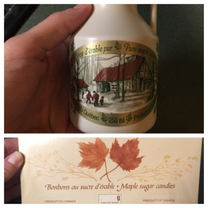 I don't think I've ever had REAL maple syrup.  I KNOW I've never had maple syrup candy!!  I can't wait to try it!