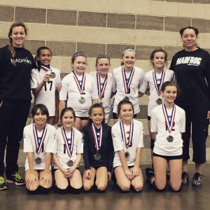 2nd place overall, 12s Division American Volleyball Challenge