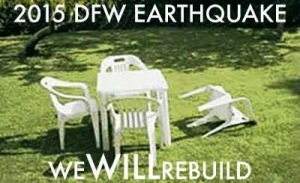 OK...earthquakes ARE serious, but I snickered at this!