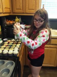 Alli's cupcakes