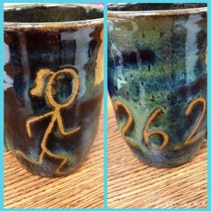 runner mug