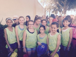 Our little Frogs at the Opening Ceremonies