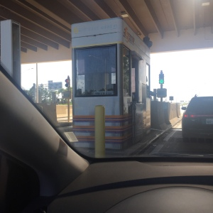 Florida still has PEOPLE manning toll booths!  I didn't know that still happened anywhere except Oklahoma! LOL