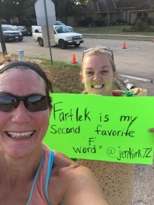 Maybe my favorite race sign ever :)