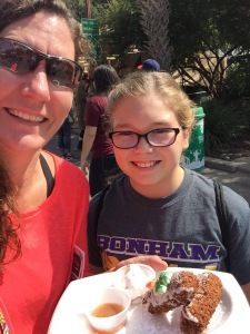 Alli and I LOVED the Holy Moly Carrot Cake Roly!