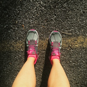 My On Running shoes.  They are awesome!