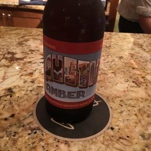 My pre-massage happy hour Austin hotel beer.