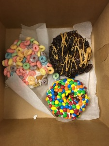 "All I know is that the top right was called ""Old Dirty Bastard"" and it was by far the best donut in this box."